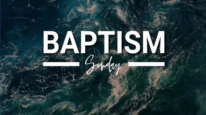 baptism 数字显示屏 (16:9) template