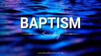 Baptism Digital Display (16:9) template