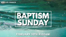 Baptism Flyer
