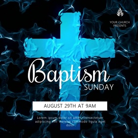 Baptism Sunday Video Template