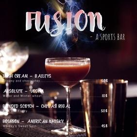 bar and pub video flyer
