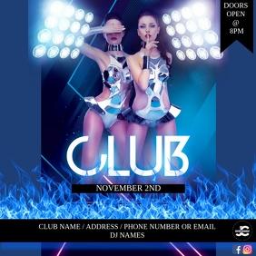 CLUB BAR FLYER