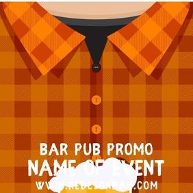 Bar Event Promo Instagram Post Template