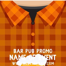 Bar Event Promo Instagram Post Template