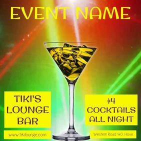 Bar Event Promo Video Template