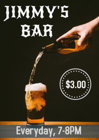 Bar flyer