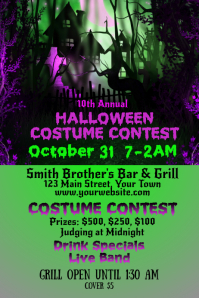Bar Halloween Costume Contest