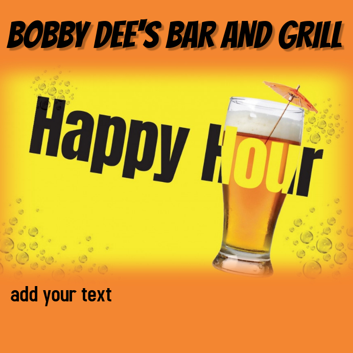 BAR HAPPY HOUR BAND EVENT LIVE MUSIC