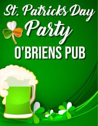 BAR HAPPY HOUR St Patricks day