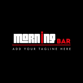 bar icon logo template design 徽标