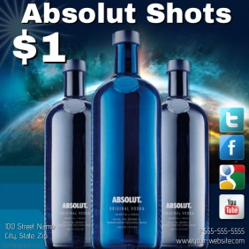 Customizable Design Templates for Alcohol | PosterMyWall