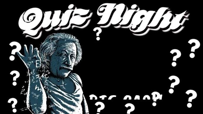 Bar Pub Quiz Trivia Night Animated Template Tampilan Digital (16:9)