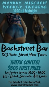 Bar Twerk Contest Video
