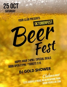 bar video, happy hour video,oktoberfest video