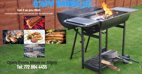 Barbecue at your wish Facebook Shared Image template