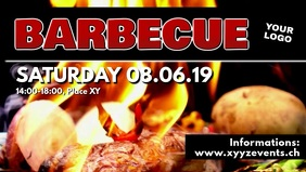 Barbecue BBQ Event Party Bar Banner Header