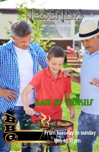 Barbecue Boulevardzeitung template