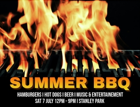 BARBECUE Flyer (US Letter) template