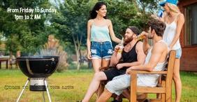 Barbecue Imagen Compartida en Facebook template