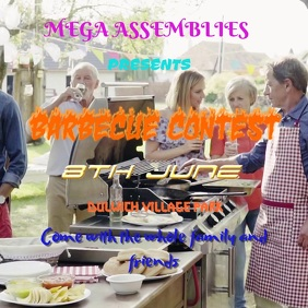 Barbecue Event Template