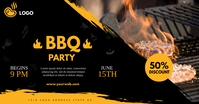 Barbecue facebook template
