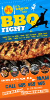 BARBECUE FIGHT ROLL-UP