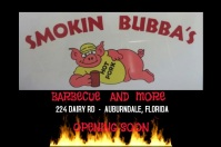barbecue flyer Affiche template
