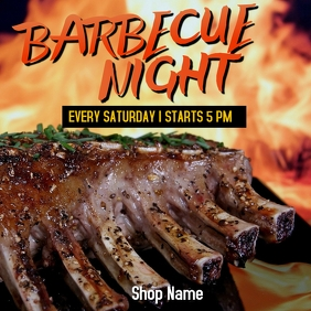 Barbecue Night Event