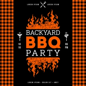 BARBECUE PARTY BANNER