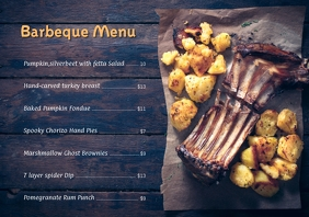 Barbecue Special menu