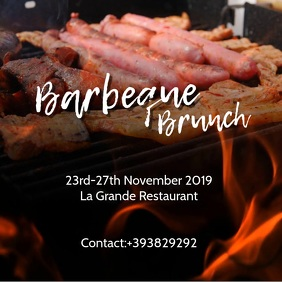 Barbeque Brunch VIDEO Ad