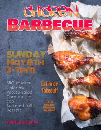 Barbeque Fundraiser flyer
