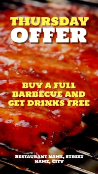 Barbeque offer