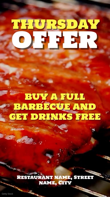 Barbeque offer