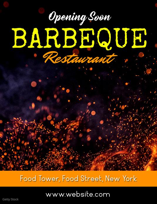 Barbeque Restaurant opening