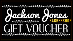 Barber Gift Voucher Template Business Card