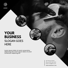 Barber Hairdresser Video Promotion Template