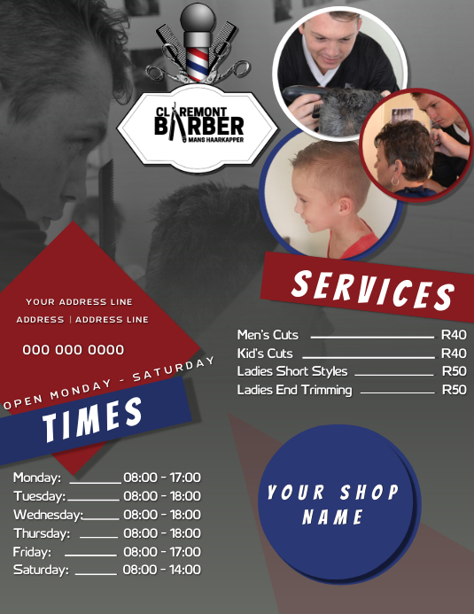 Barber Shop Ad