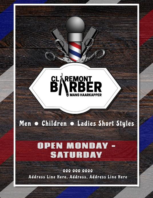 Barber Shop Ad