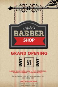 Barber Shop Event Flyer Template