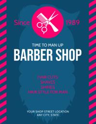 Customizable Design Templates For Barbershop