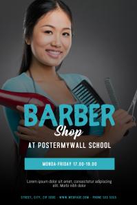 Barber Shop Flyer Design Template