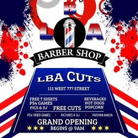 Barber Shop Grand opening