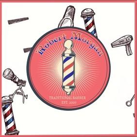Barber Shop Instagram Promo template