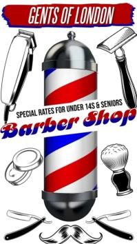 Barber Shop Instagram Video Template