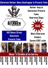 Barber Shop Tear Off Flyer
