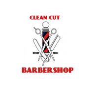 BARBERSHOP CLEAN CUT Logo template