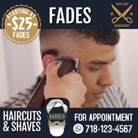 Barbershop Fades template