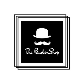 Barbershop minimal logo