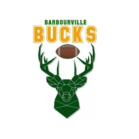 BARBOURVILLE BUCKS Logo template